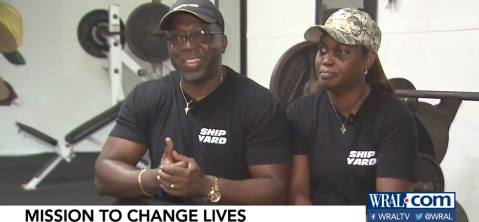 On a Mission to Change Lives: Couple Runs Free Community Gym in Southeast Raleigh