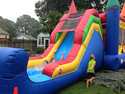 Moonwalk WATER SLIDE new