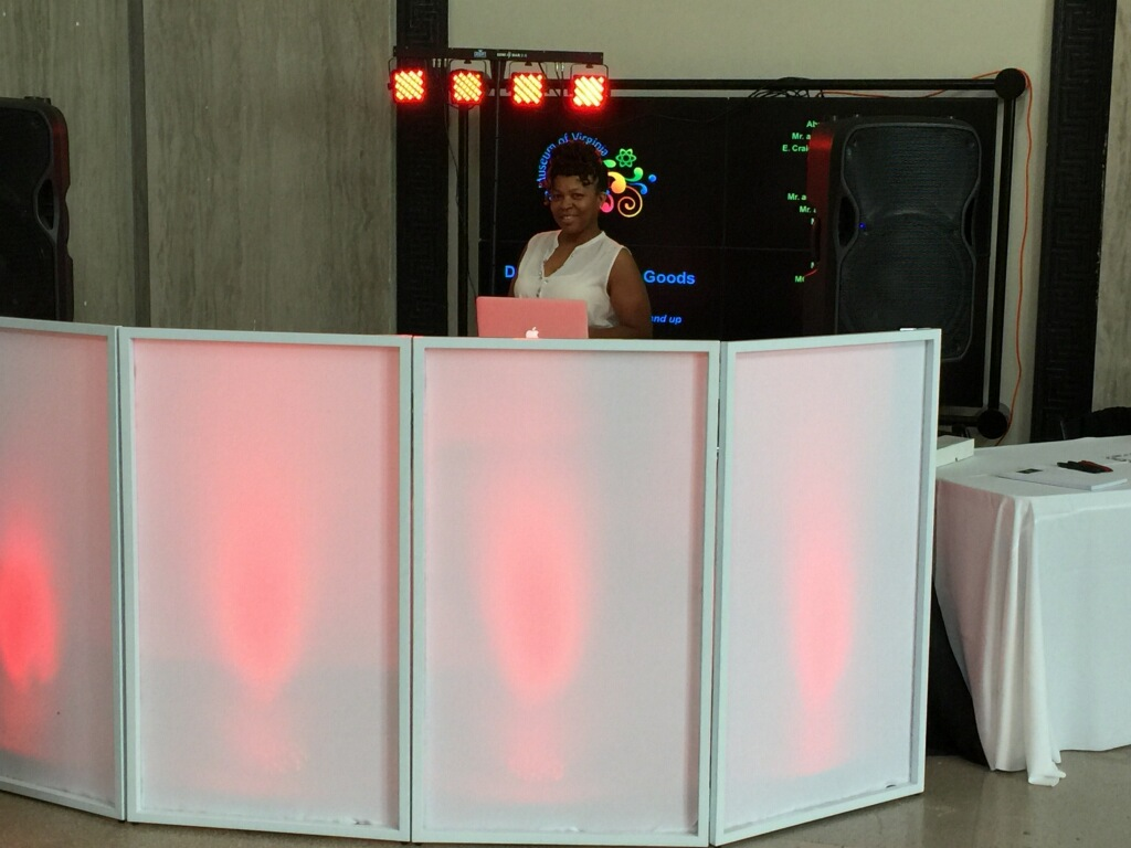 DJ Eddie & Aja Lighting Screen 2