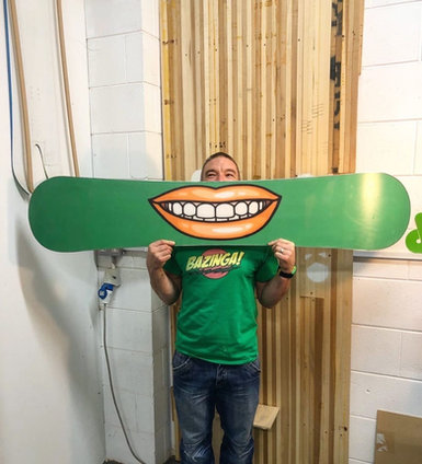 Smile Custom Board / Build Your Own