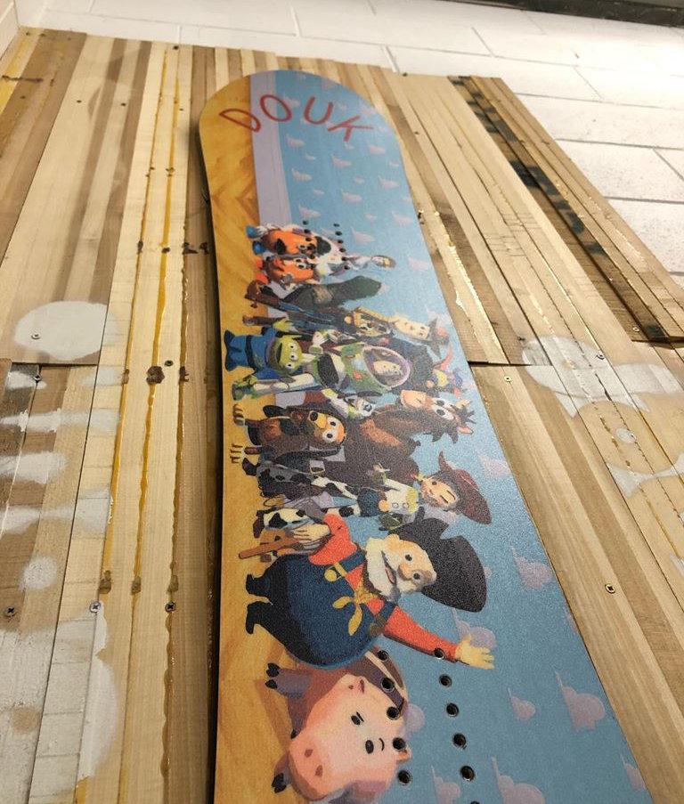 Toy Story Custom Board