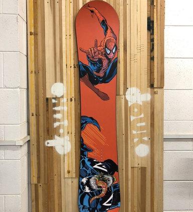 Spider-Man Custom Board