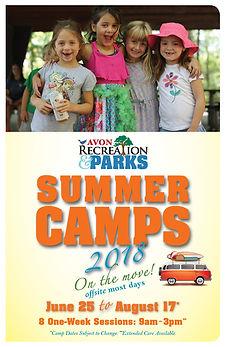 Avon Rec Summer Camps