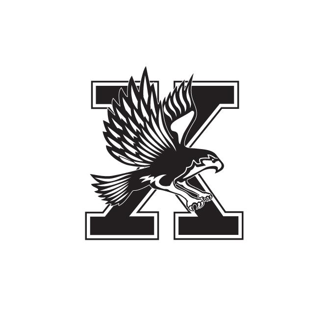 Xavier HS Falcon X logo