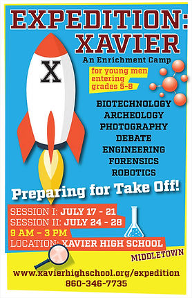 Postcard For Expedition Xavier Summer Camp