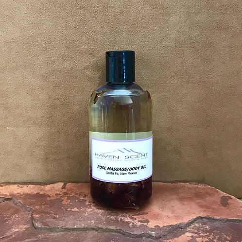 Rose Massage/Body Oil -8oz