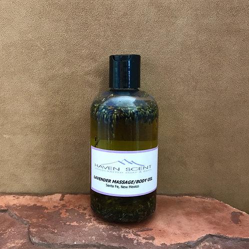 Lavender Massage/Body Oil - 8oz