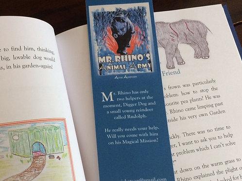 Mr. Rhino Bookmark