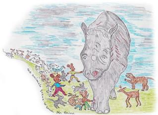 Happy Christmas Mr Rhino
