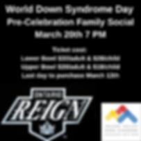 World Down Syndrome Day Pre Celebration.