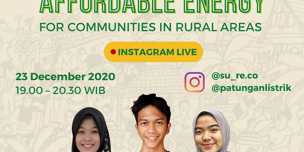 Affordable Energy for Communities in Rural Area