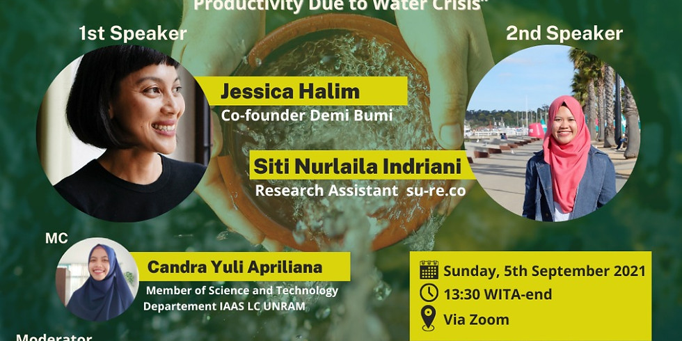 Climate Change: Degradation in Agricultural Quality and Productivity Due to Water Crisis