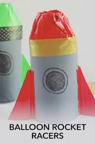Balloon Rocket Art