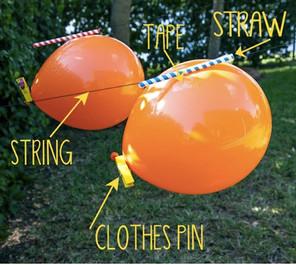 Balloon Rockets - Race them