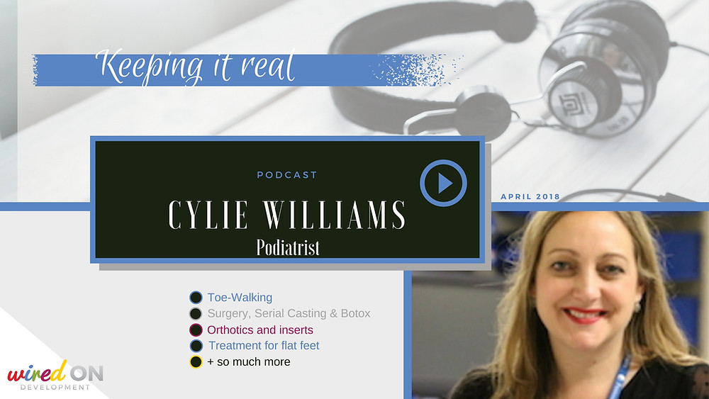 Cylie Williams: A Podiatrists perspective on paediatric gait and foot treatments