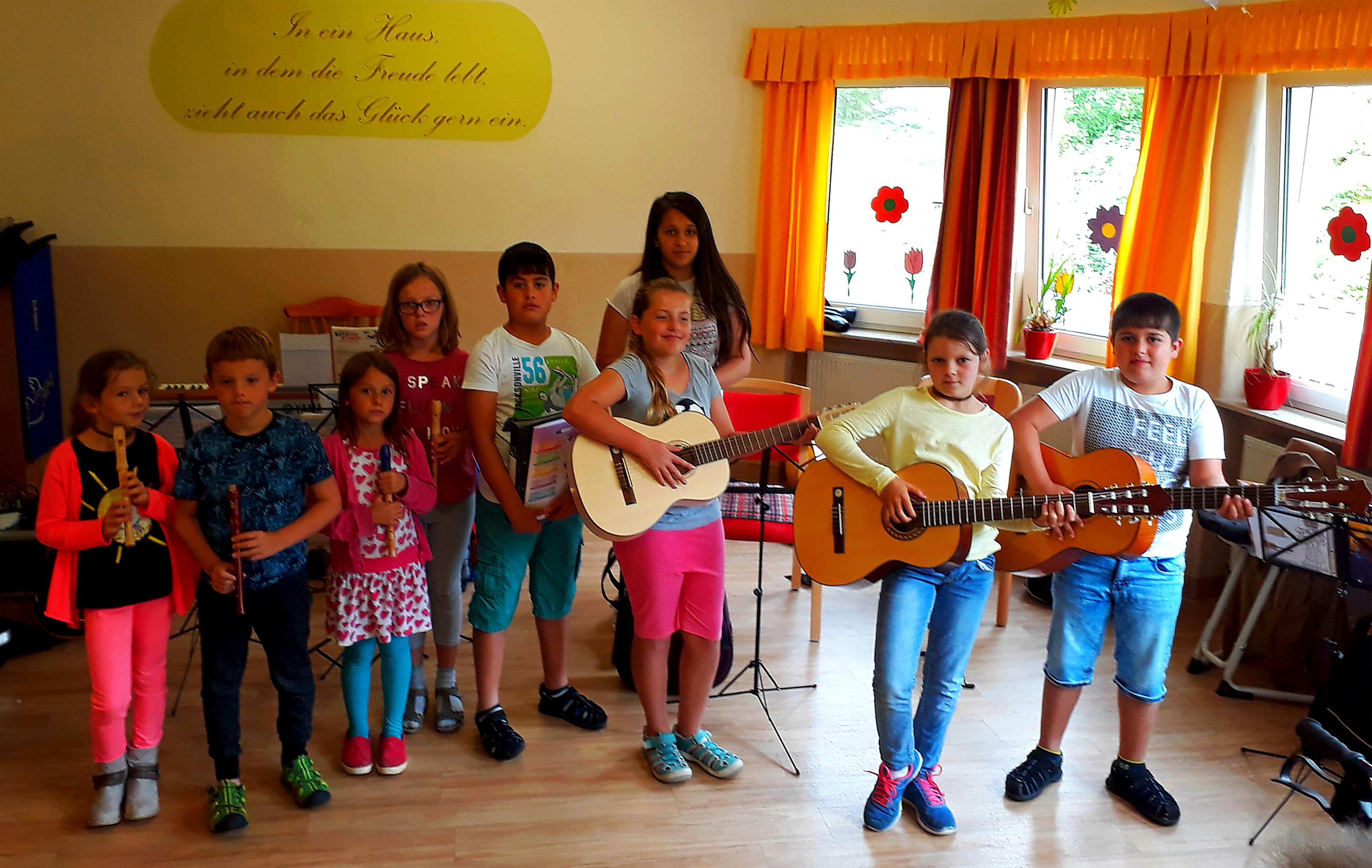 Sommerkonzert 2017 bei der AWO Heidenheim
