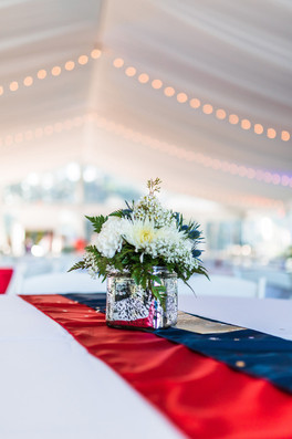 Red, White & Blue Party Decor
