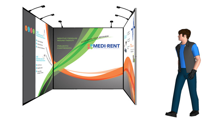 Medirent Conference Stand