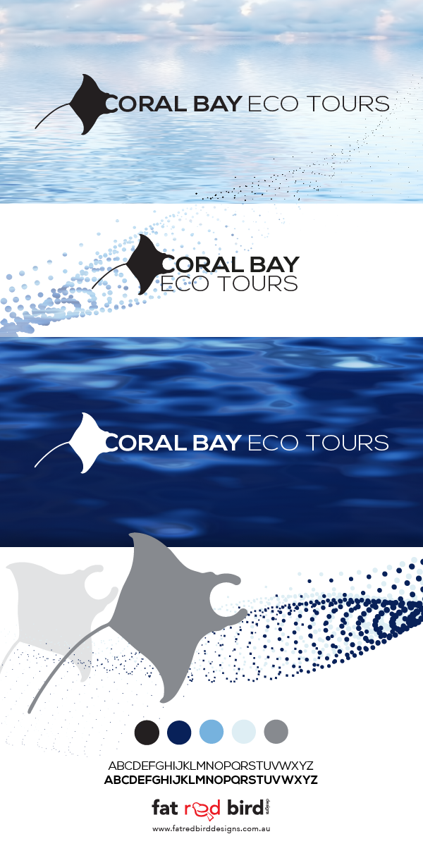 Logo submission for Coral Bay Eco Tours that won