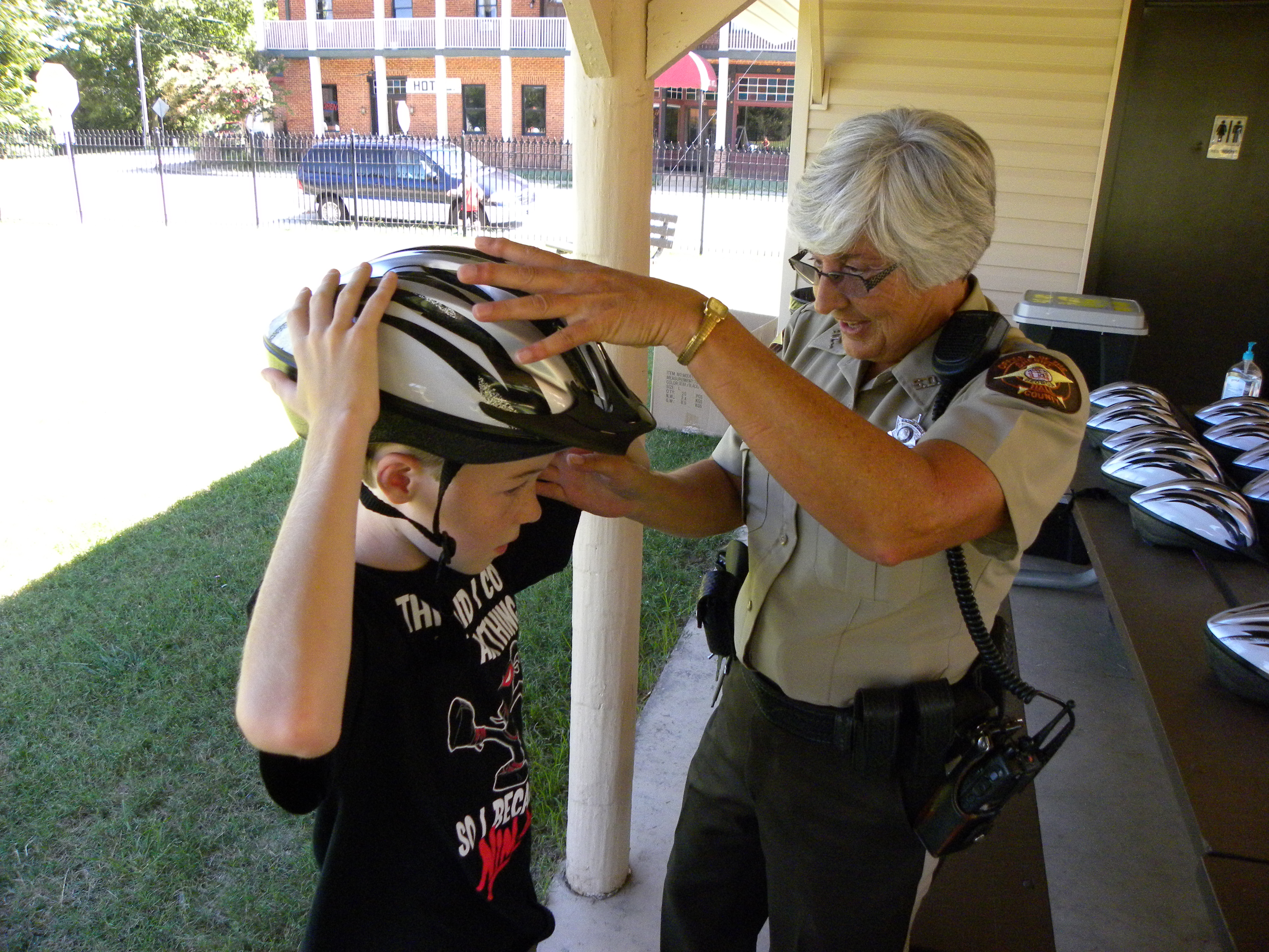 SafeKids Helmet Fitting