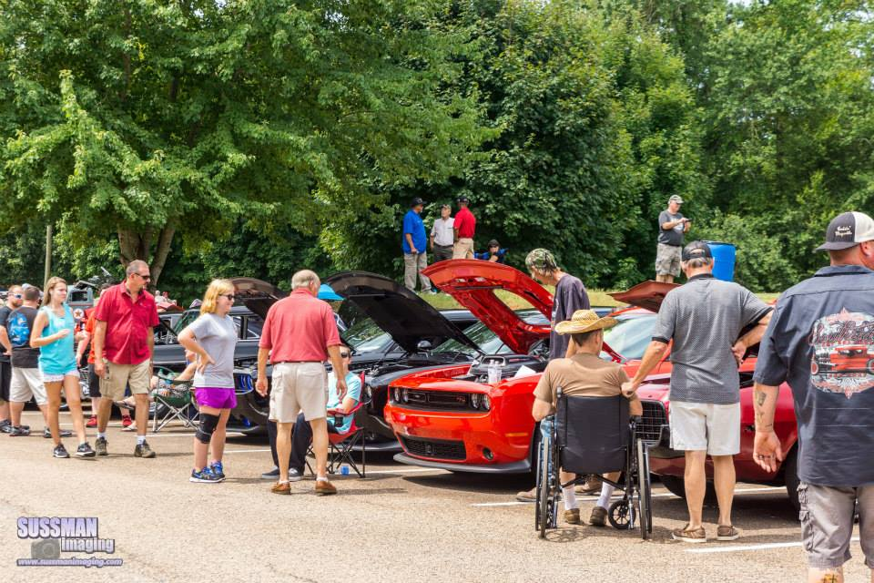 Spectators, Sheriff's Car Show 2015