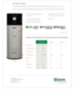 Heat Pump Water Heater - Voltex 50 Gal