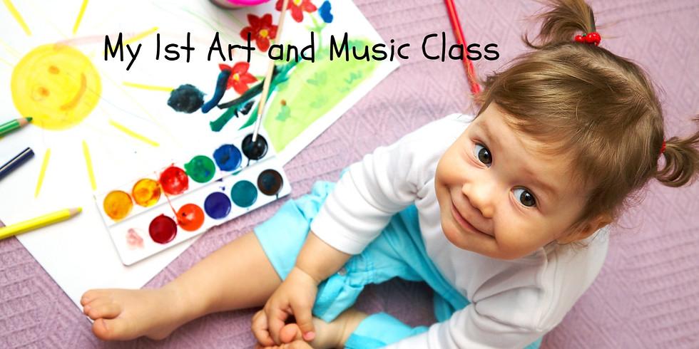 My 1st Art and Music Class - Binbrook