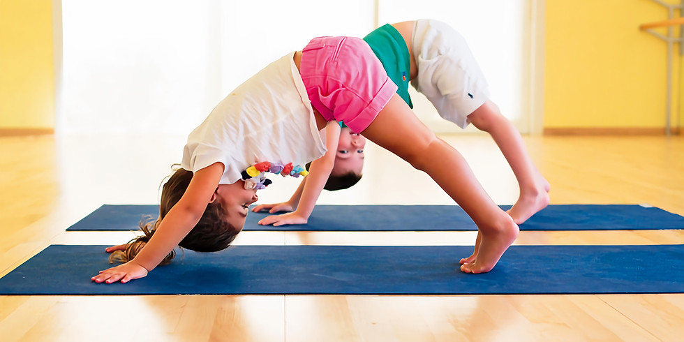 4-7 Years Old Young Yogis with Jessica Hill