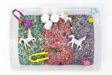 Unicorn Sensory Play Box
