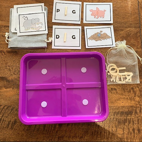 Short Vowel and Rhyming Words Game