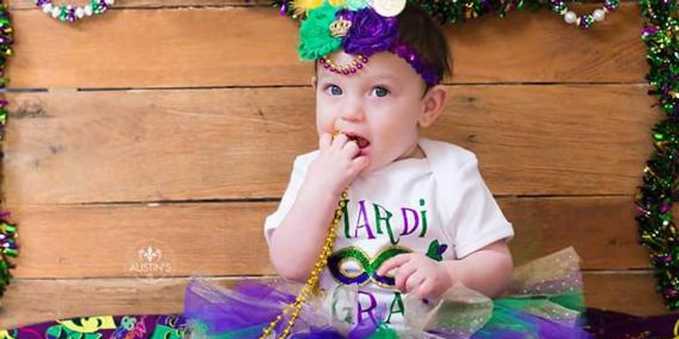 Baby's 1st Mardi Gras Party