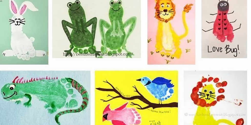 ABC's Footprint Book and Story Time Class