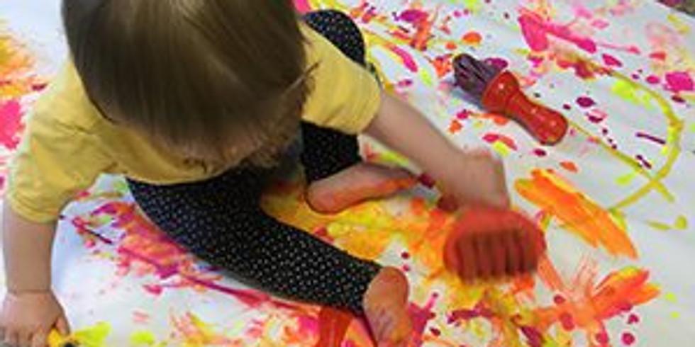 Baby and Toddler Monet Art Class - 6 week program
