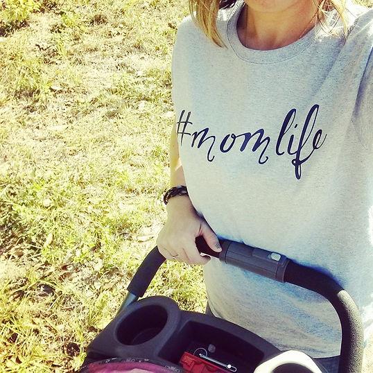 #momlfe, stroller, walking, mom, mom and baby