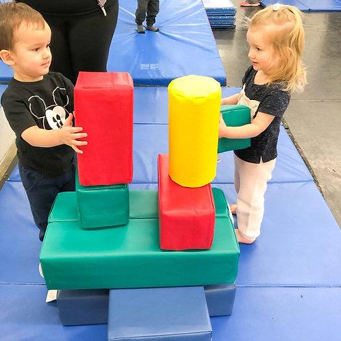 Soft Play Building Blocks 4 Day Rental