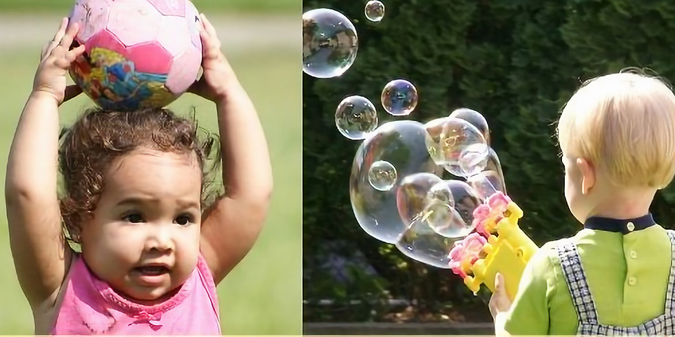 Bubble and Balls in the Park