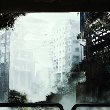 廃墟入り口