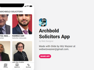 ARCHBOLD SOLICITORS BUSINESS MOBILE APP