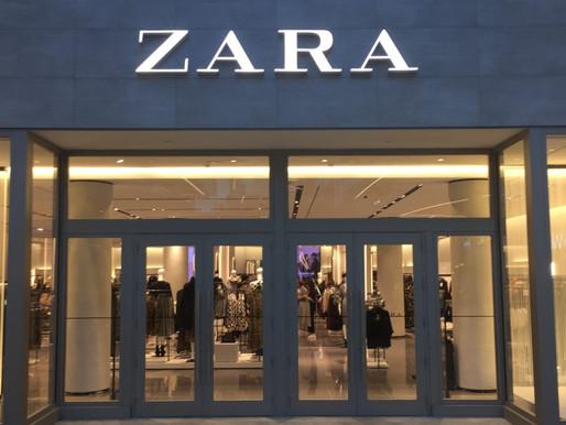 全球關閉1200間門市 Zara   在「疫境」中向電商轉型