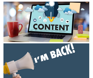 "CONTENT - I""M BACK"