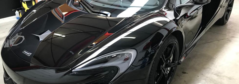 McLaren Full karosszéria védő fóliázás