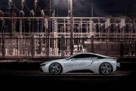 BMW i8 Dekorációs és védő fóliázás