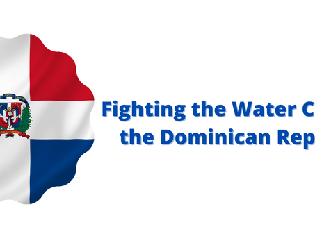 Can you drink the water in the Dominican Republic? Not yet but .....