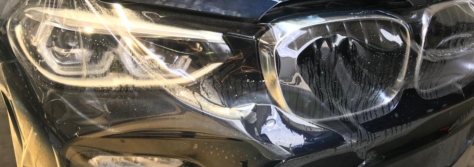 BMW X5 Full Front karosszéria védő fóliázás