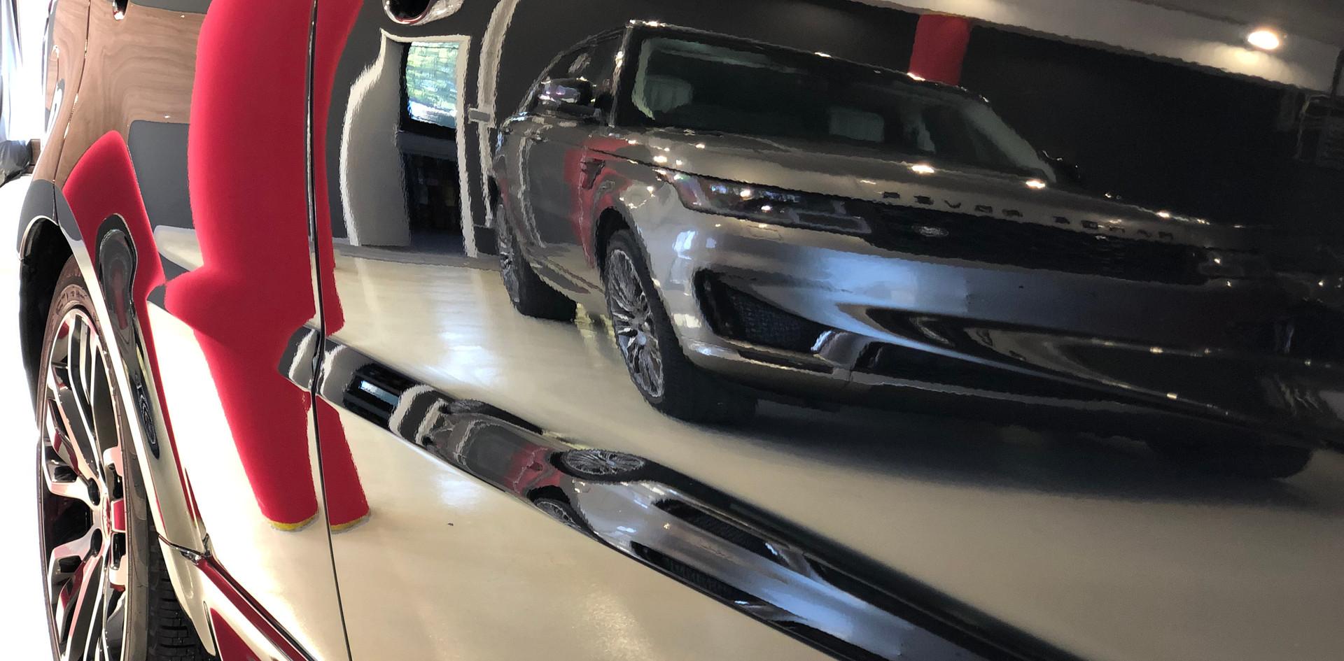 Range Rover karosszéria védő fóliázás