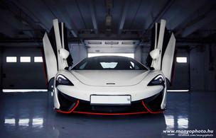 McLaren dekorációs és védő fóliázása