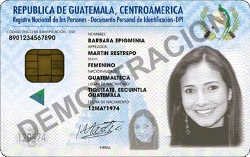 Guatemala ID
