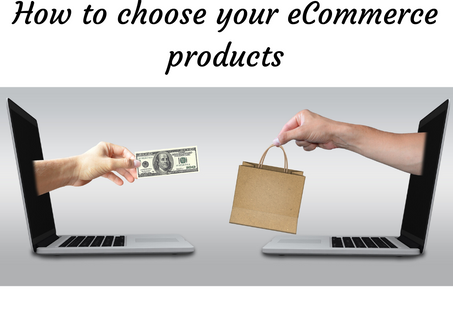 How to choose your E-Commerce products.
