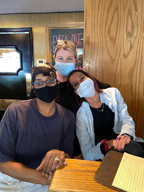 Missy Char Kaitlin with Masks.jpg