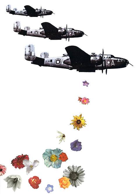 Flowerbombs - A4 Art Print